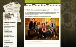 curlyann.se - skärmdump