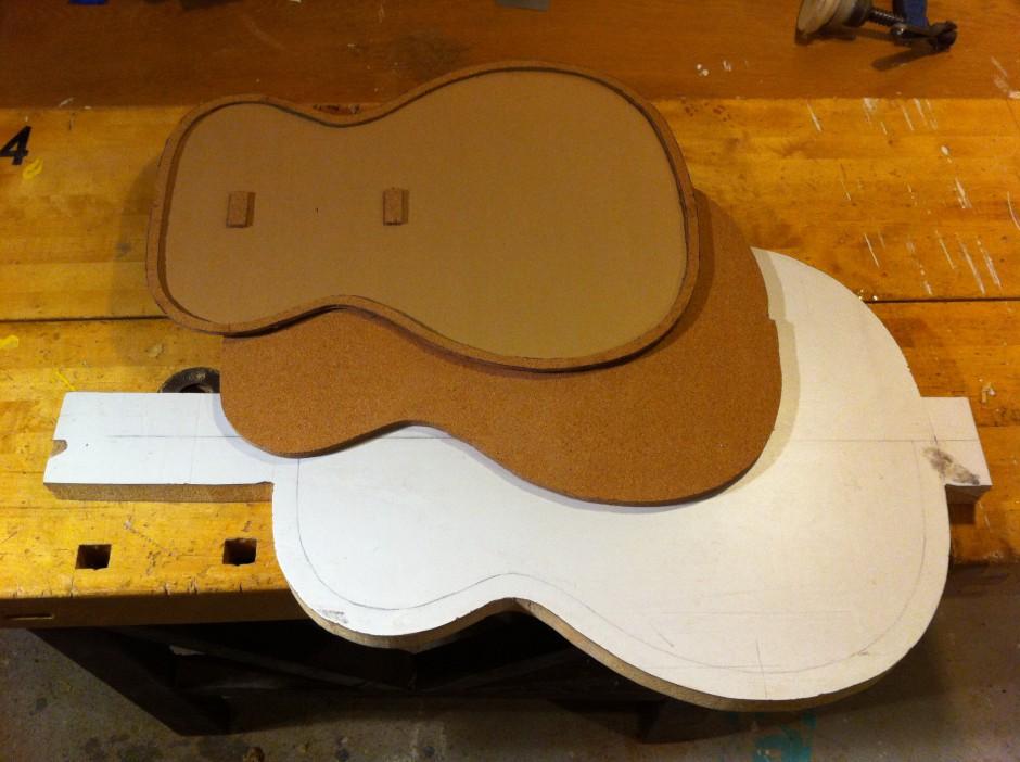 Gitarrbygge: Arbetsytor