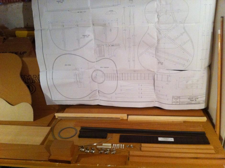 Gitarrbygge - delar