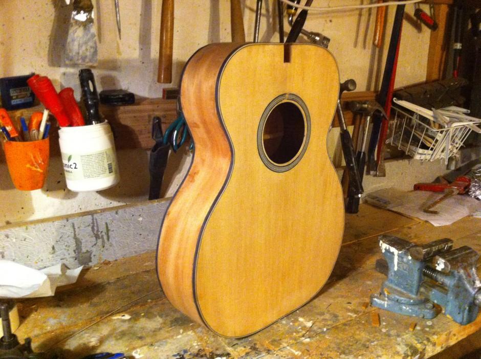 Gitarrbygge: Kroppen med lister