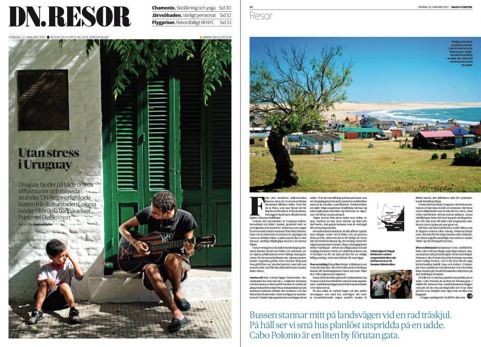 Reportage från Uruguay