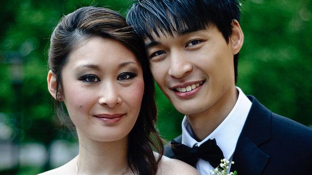 Bröllop: Fina och Kevin