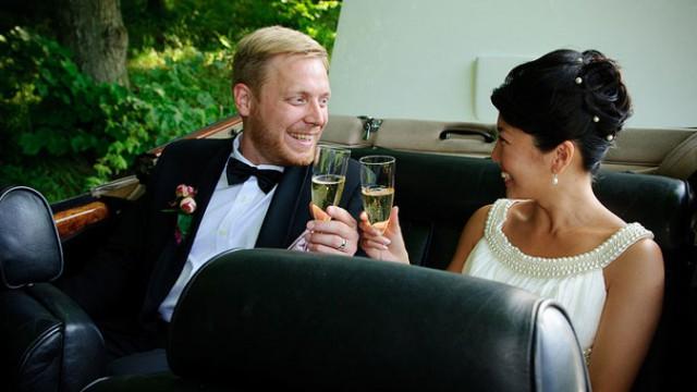 Bröllop: Nancy och Niklas